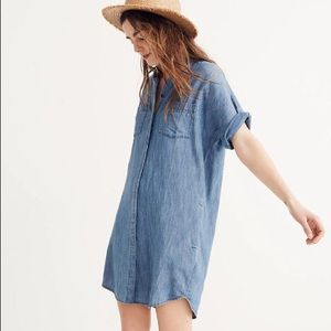 Madewell Denim Courier Shirtdress